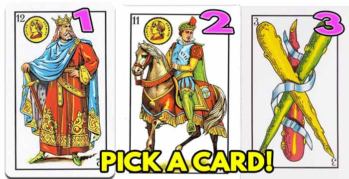 Tarot reading, choose a card and I will reveal your destiny